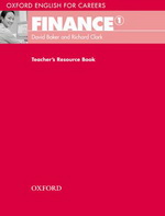 Oxford English for Careers: Finance 1   Teacher's Resource Book