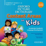 Oxford Picture Dictionary: Content Areas for Kids: Second Edition | Audio CDs (4)