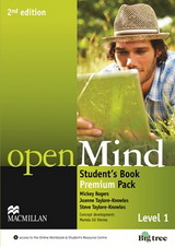 Open Mind 2nd Edition: 1 | Student's Book Premium Pack