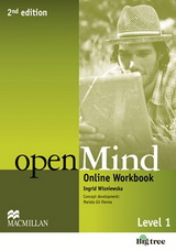 Open Mind 2nd Edition: 1 | Online Workbook