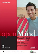 Open Mind 2nd Edition: 3 | Student's Book Premium Pack