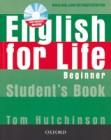 English for Life Beginner | Teacher's Book + Test CD