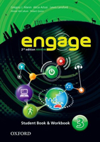 Engage: Second Edition Level 3 | Student Book/Workbook Pack with MultiROM
