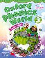 Oxford Phonics World: Level 3 | Student Book with Multi-ROM
