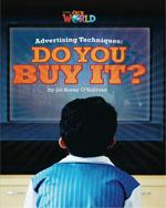 Advertising Techniques: Do You But It  | Non Fiction