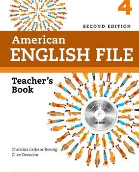 American English File Level 4 | Teacher's Book with Test and Assessment CD-ROM