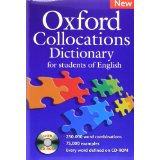 Oxford Collocations Dictionary: New Edition | Dictionary and CD-ROM Pack