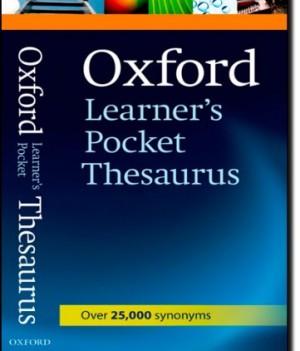 Oxford Learner's Pocket Thesaurus | Pocket Thesaurus