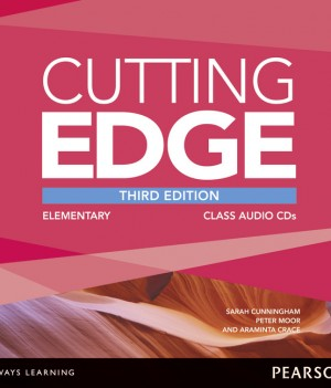 Cutting Edge 3rd Ed:  Elementary |  Class CD (2)