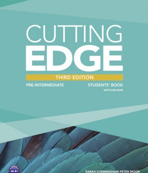 Cutting Edge 3rd Ed:  Pre-intermediate |  Student Book + DVD-ROM