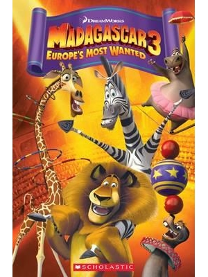 Madagascar 3: Europe's Most Wanted | Book with CD