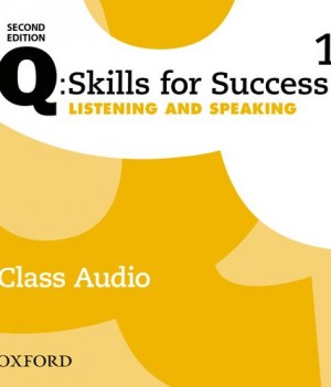 Q Skills for Success Level 1 Listening & Speaking 2nd Edition | Class Audio CDs (3)