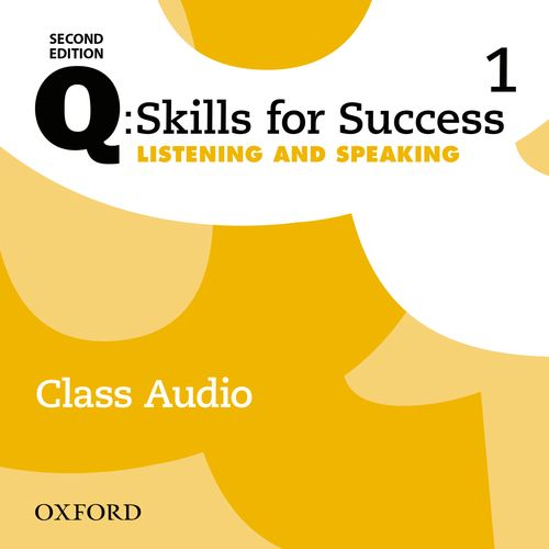 Q Skills for Success Level 1 Listening & Speaking 2nd Edition   Class Audio CDs (3)