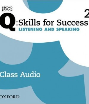Q Skills for Success Level 2 Listening & Speaking 2nd Edition | Class Audio CDs (3)