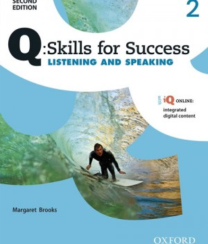 Q Skills for Success Level 2 Listening & Speaking 2nd Edition | Student Book  with iQ Online