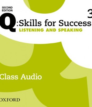 Q Skills for Success Level 3 Listening & Speaking 2nd Edition | Class Audio CDs (3)