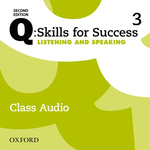 Q Skills for Success Level 3 Listening & Speaking 2nd Edition   Class Audio CDs (3)