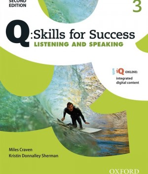 Q Skills for Success Level 3 Listening & Speaking 2nd Edition | Student Book  with iQ Online