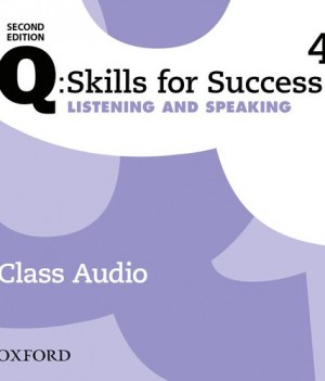 Q Skills for Success Level 4 Listening & Speaking 2nd Edition | Class Audio CDs (3)