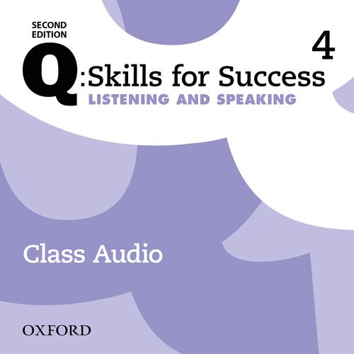 Q Skills for Success Level 4 Listening & Speaking 2nd Edition   Class Audio CDs (3)