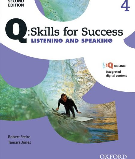 Q Skills for Success Level 4 Listening & Speaking 2nd Edition   Student Book  with iQ Online