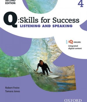 Q Skills for Success Level 4 Listening & Speaking 2nd Edition | Student Book A with iQ Online