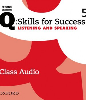 Q Skills for Success Level 5 Listening & Speaking 2nd Edition | Class Audio CDs (3)