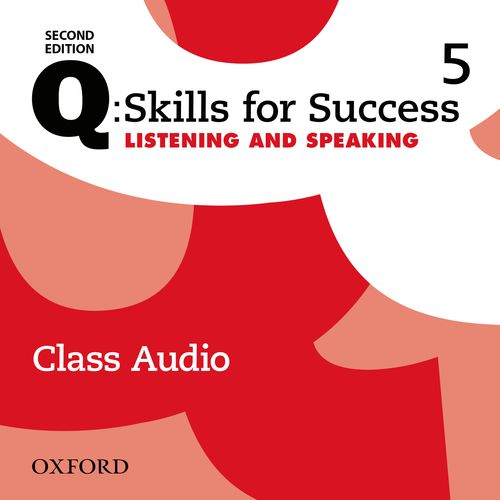 Q Skills for Success Level 5 Listening & Speaking 2nd Edition   Class Audio CDs (3)