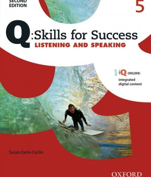 Q Skills for Success Level 5 Listening & Speaking 2nd Edition | Student Book  with iQ Online