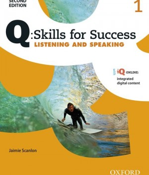Q Skills for Success Level 1 Listening & Speaking 2nd Edition | Student Book A with iQ Online