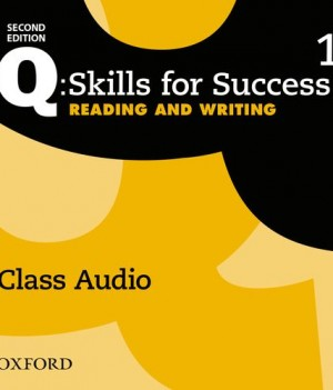 Q Skills for Success Level 1 Reading and Writing 2nd Edition | Class Audio CDs (3)