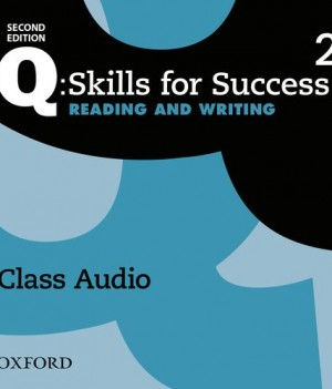 Q Skills for Success Level 2 Reading and Writing 2nd Edition | Class Audio CDs (3)