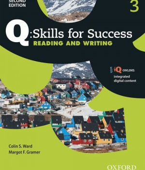 Q Skills for Success Level 3 Reading and Writing 2nd Edition | Student Book with iQ Online