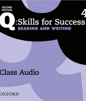 Q Skills for Success Level 4 Reading and Writing 2nd Edition | Class Audio CDs (3)