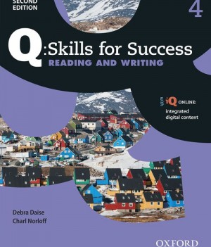 Q Skills for Success Level 4 Reading and Writing 2nd Edition | Student Book A with iQ Online