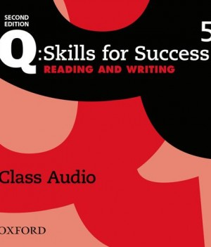 Q Skills for Success Level 5 Reading and Writing 2nd Edition | Class Audio CDs (3)