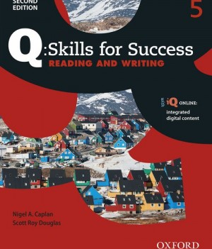 Q Skills for Success Level 5 Reading and Writing 2nd Edition | Student Book with iQ Online