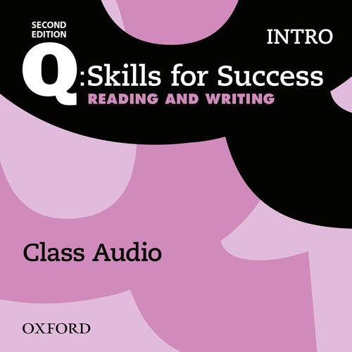 Q Skills for Success Intro Level Reading and Writing 2nd Edition   Class Audio CDs (3)
