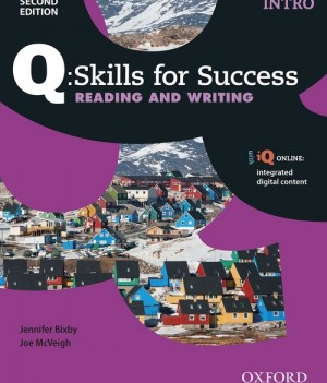 Q Skills for Success Intro Level Reading and Writing 2nd Edition | Student Book B with iQ Online
