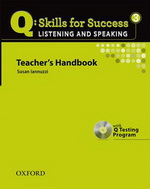 Q: Skills for Success - Listening and Speaking: Level 3 | Teacher's Book with Test generator CD-ROM