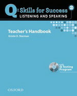 Q: Skills for Success - Listening and Speaking: Level 2 | Teacher's Book with Test generator CD-ROM