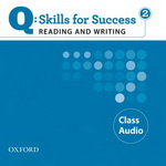 Q: Skills for Success - Reading and Writing: Level 2 | Class Audio CD (2)