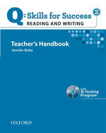 Q: Skills for Success - Reading and Writing: Level 2 | Teacher's Book with Test generator CD-ROM