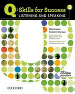 Q: Skills for Success - Listening and Speaking: Level 3 | Class Audio CD (3)