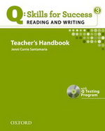 Q: Skills for Success - Reading and Writing: Level 3 | Teacher's Book with Test generator CD-ROM
