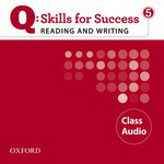 Q: Skills for Success - Reading and Writing: Level 5 | Class Audio CD