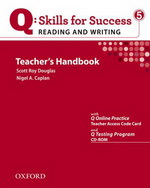 Q: Skills for Success - Reading and Writing: Level 5 | Teacher's Book with Test generator CD-ROM