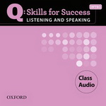 Q: Skills for Success - Listening and Speaking: Intro | Class Audio CDs (3)