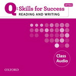 Q: Skills for Success - Reading and Writing: Intro | Class Audio CDs (2)