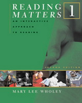 Reading Matters  1 | Book 1 (272 pp)